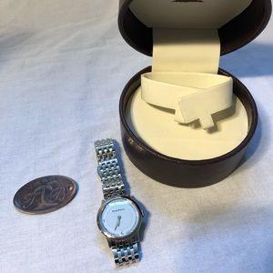 Women's Tommy Bahama Blue Silver Bracelet Watch